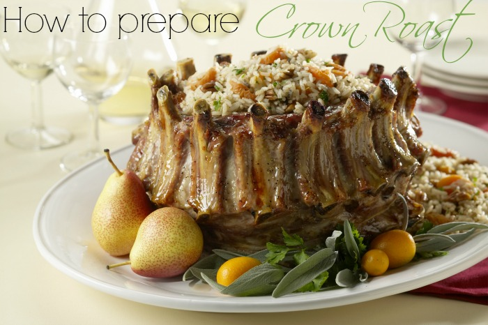 How to prepare a crown roast