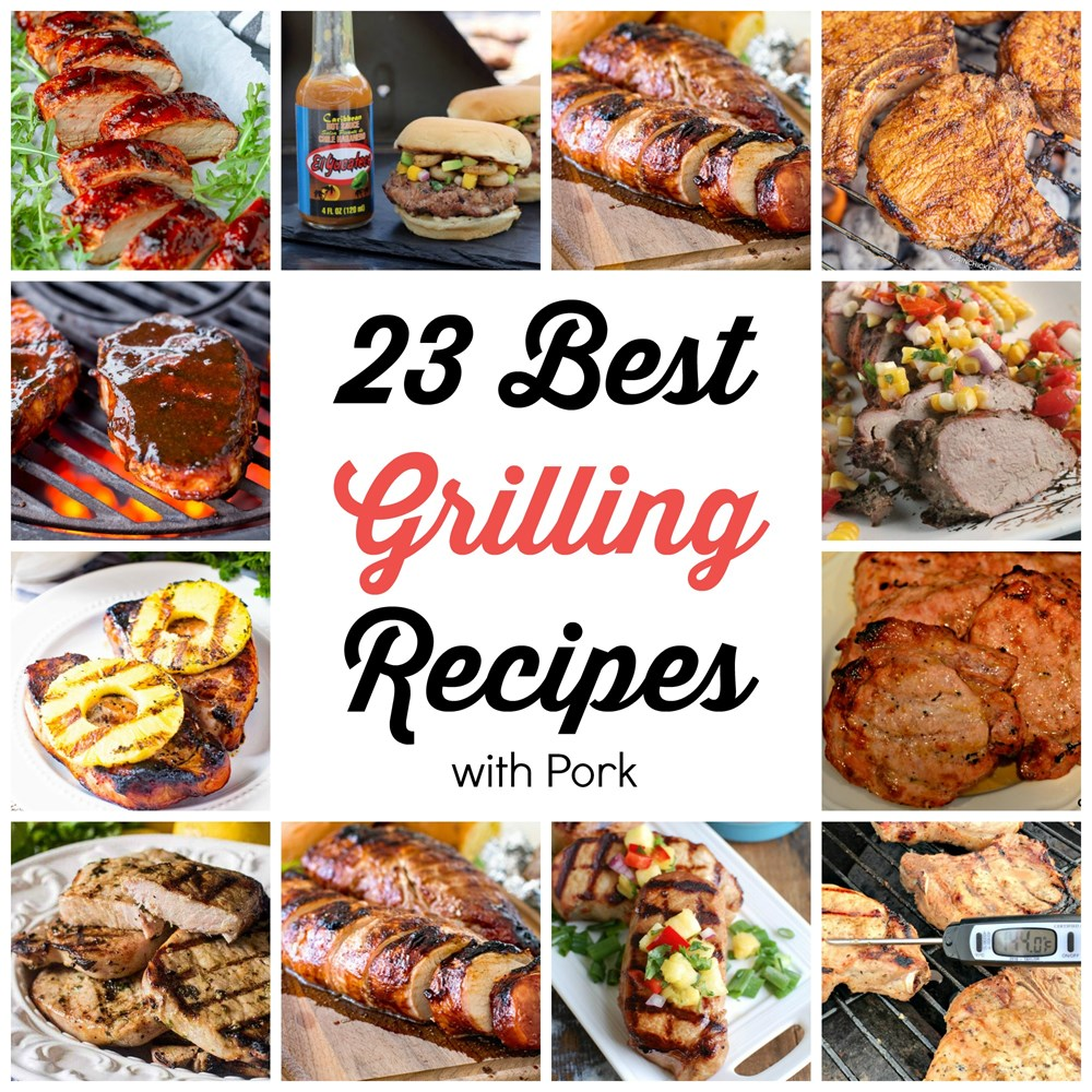23 Best Grilling Recipes with Pork