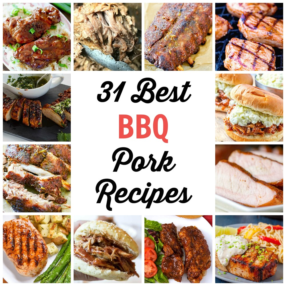 31 Best BBQ Recipes with Pork