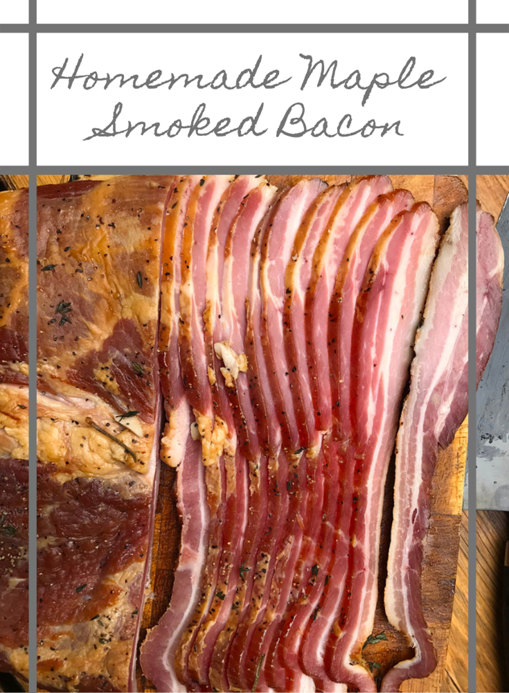 How to make Homemade Maple Smoked Bacon